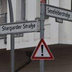 Konzept Gesundheit Berlin Strassenschild